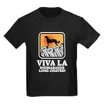 Weimaraner Long-Coated Kids Dark T-Shirt