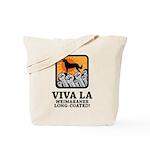 Weimaraner Long-Coated Tote Bag