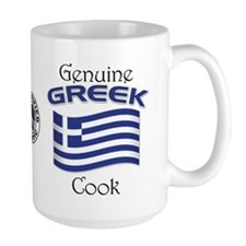 Genuine Greek Cook Mug