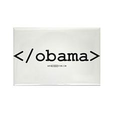 < / obama > Rectangle Magnet (10 pack)
