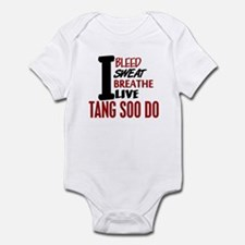 Bleed Sweat Breathe Tang Soo Do Infant Bodysuit