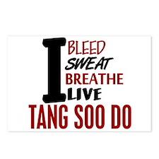 Bleed Sweat Breathe Tang Soo Do Postcards (Package