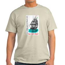 Clipper Ship Ash Grey T-Shirt