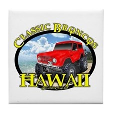 www.ClassicBroncosHawaii.Com Tile Coaster
