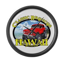 www.ClassicBroncosHawaii.Com Large Wall Clock