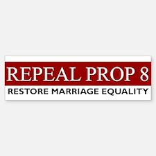 Restore Marriage Equality Bumper Bumper Bumper Sticker