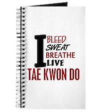 Bleed Sweat Breathe Tae Kwon Do Journal