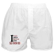Bleed Sweat Breathe Tae Kwon Do Boxer Shorts