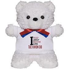 Bleed Sweat Breathe Tae Kwon Do Teddy Bear