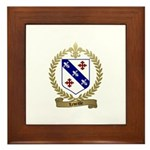 LEVEILLE Family Framed Tile
