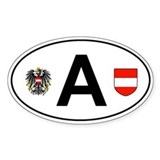 Austria sticker Bumper Stickers
