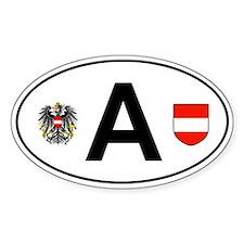 Austria car decal