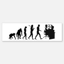 Film Editor Evolution Bumper Bumper Sticker