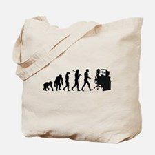 Film Editor Evolution Tote Bag
