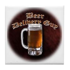 Beer Delivery Tile Coaster