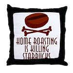 Home Roasting Throw Pillow