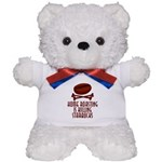 Home Roasting Teddy Bear