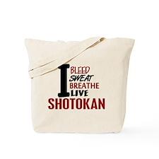 Bleed Sweat Breathe Shotokan Tote Bag