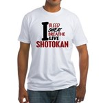 Bleed Sweat Breathe Shotokan Fitted T-Shirt