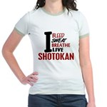 Bleed Sweat Breathe Shotokan Jr. Ringer T-Shirt