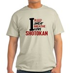 Bleed Sweat Breathe Shotokan Light T-Shirt