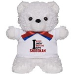 Bleed Sweat Breathe Shotokan Teddy Bear