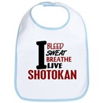 Bleed Sweat Breathe Shotokan Bib