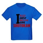 Bleed Sweat Breathe Shotokan Kids Dark T-Shirt