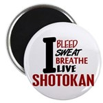 Bleed Sweat Breathe Shotokan Magnet