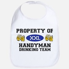 Property of Handyman Drinking Team Bib