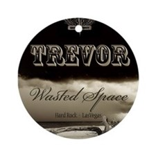 Cute Trevor Ornament (Round)