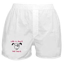 Pet Hard (Dog) Boxer Shorts
