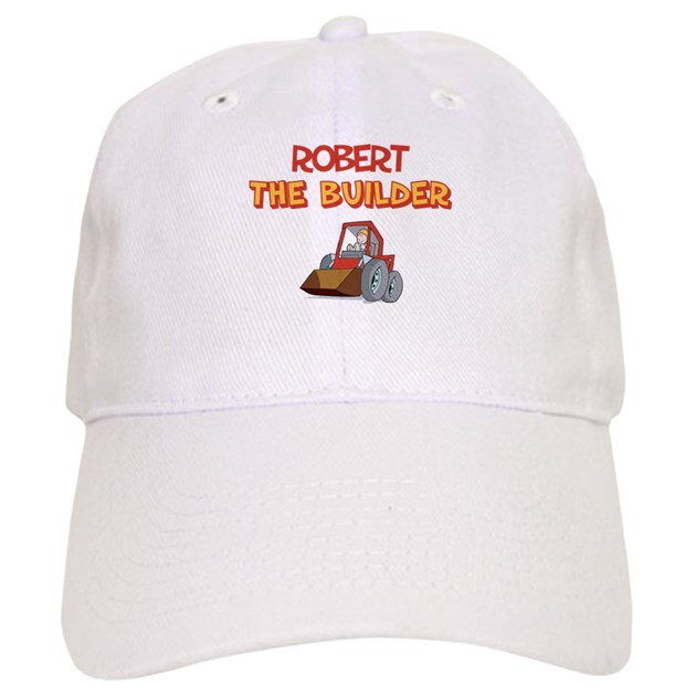 bob the builder baseball cap by snarkybabies
