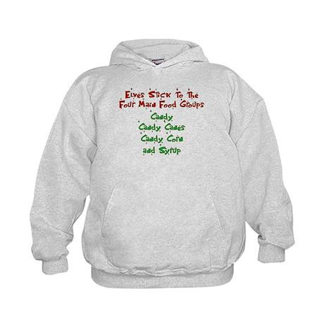 Elves - Food Groups Kids Hoodie