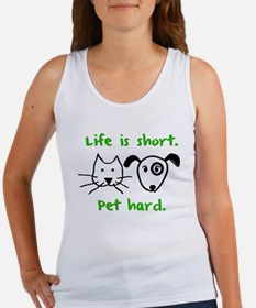 Pet Hard (Pets) Women's Tank Top