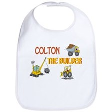 Colton the Builder Bib
