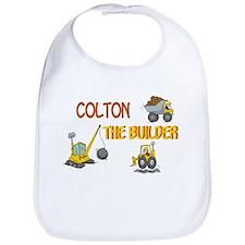 Colton the Builder Bib