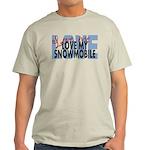 Love Me - Snowmobile Light T-Shirt