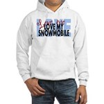 Love Me - Snowmobile Hooded Sweatshirt