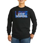Love Me - Snowmobile Long Sleeve Dark T-Shirt