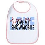 Love Me - Snowmobile Bib