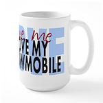 Love Me - Snowmobile Large Mug
