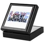 Love Me - Snowmobile Keepsake Box