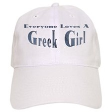 Greek Girl Baseball Cap