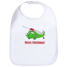 Funny Military helicopter Bib