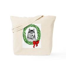 Siberian Christmas Tote Bag