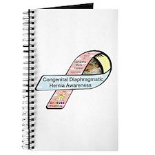 Samantha Hudson CDH Awareness Ribbon Journal