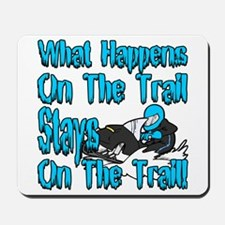On The Trail Mousepad