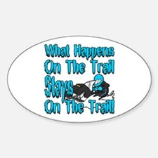 On The Trail Decal