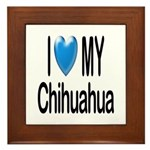 My Chihuahua Framed Tile